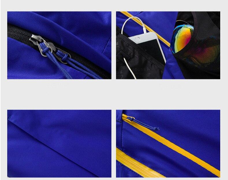 All'aperto Tuta Da Sci degli uomini Addensato Calda e Pulita di Usura resistente Impermeabile Quick Dry Sport Arrampicata Giacca Da Sci Per Gli Uomini - 3