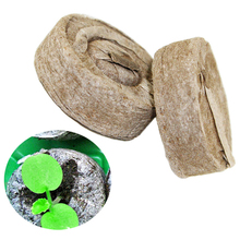 5pcs Compressed Peat Seed Nursery Pot Nutritional Block Seeding Soil for Home Garden Planting Supplies