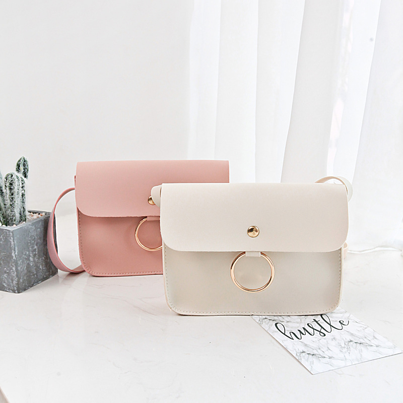 441e8c950dbf 2018 New Fashion Women Messenger Bags Cheap Ladies Shoulder Bags Small  Wallet Girl s Ring Crossbody Bag Beach Bag Sac A Main-in Shoulder Bags from  Luggage ...