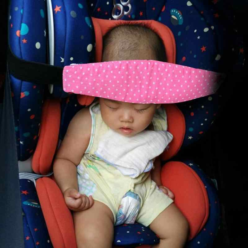 Car Safety Baby Sleeping Head Support Belt Children Kid Fixing Band Car Seat Sleep Nap Positioner Baby Sroller Holder Belt