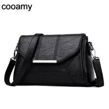 Kadın postacı çantası bayanlar Crossbody çanta kızlar için Pu deri çantalar tasarımcı kadın omuz çantaları yüksek kaliteli katı