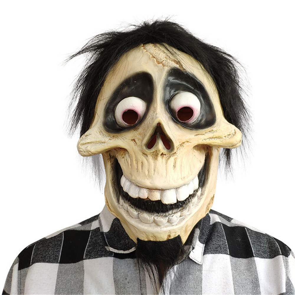 Mask Costumes-Props Latex Movie Coco Halloween Funny Cosplay Adults for Skull Migul-Grandpa