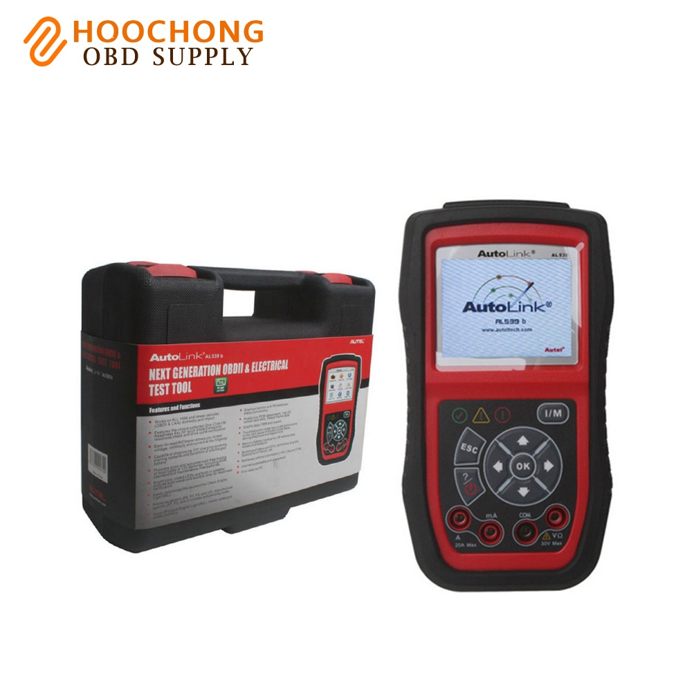 Autel autolink al539b auto code reader autel electrical test tool automotive scanner china mainland
