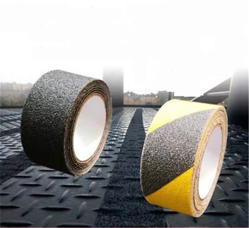5M Waterproof PVC Frosted Surface Safety Tape Self Abrasive Stripe for Stairs Anti Slip Tread Step Warning Skid Sticker 5cm 5m frosted surface anti slip tape abrasive for stairs tread step safety tape non skid safety tapes