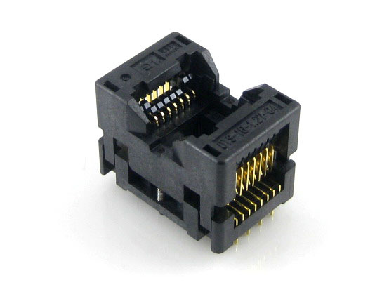 Enplas IC Test & Burn-in Socket OTS-14(16)-1.27-03 For SOP14 SO14 SOIC14 Package 1.27 Pitch 14 Pins
