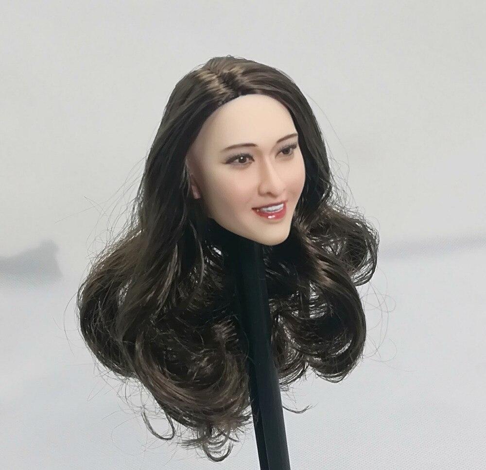 1/6 Ivanka Trump tête sculpter pour 12 ''figurines corps cheveux bruns