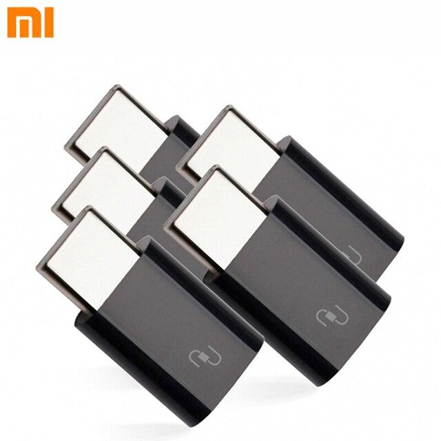 Оригинальный адаптер зарядного устройства Xiaomi Mi портативный адаптер Micro USB Type c для Xiaomi Mi4C/Mi5/Mi6 /Mi конвертер