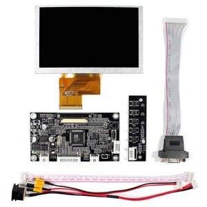 Image 2 - VGA AV LCD בקר לוח עם 5 אינץ 800x480 VS050T 001A LCD מסך