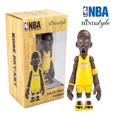 16cm NBA The Los Angeles Lakers All-Star Basketballplayer Kobe Bryant Action Figure Q Version Of Mode Collectible Model Toys trevor ariza autographed signed 8x10 photo lakers nba finals free throw coa