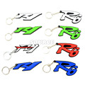 new products Motorcycle Racing Key rings Keychain soft Rubber motocross llaveros Rings gift FOR YAMAHA yzf-R1 yzf-R6 yzf R1 R6