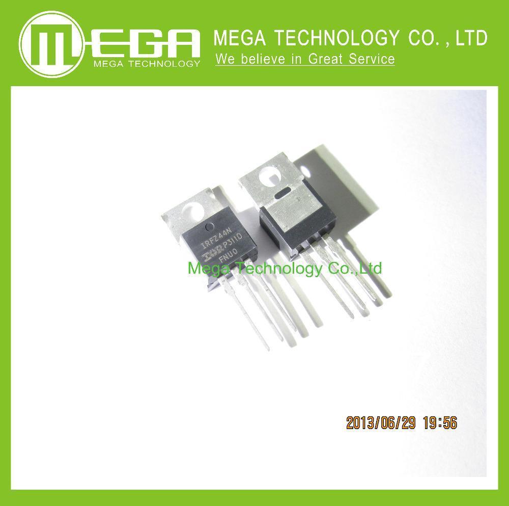 Free Shipping 10pcs IRFZ44N IRFZ44 Power MOSFET 49A 55V TO-220