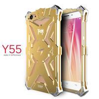 Luxury For BBK Vivo Y55 Y 55 Back Cover Simon THOR IRONMAN Shockproof Metal Aluminium Frame