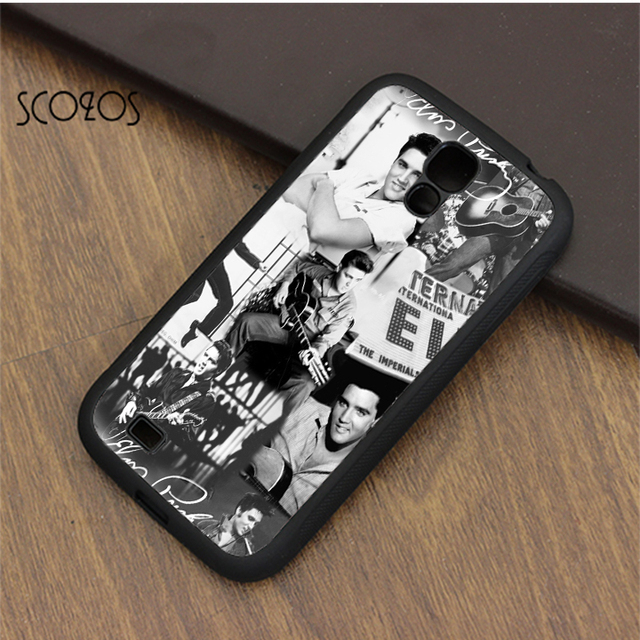 new product 87f9b 3257f SCOZOS Elvis Presley cell phone case cover for samsung galaxy S3 S4 S5 S6  S7 S8 S6 edge S7 edge note 3 note 4 note 5 &qr248-in Fitted Cases from ...