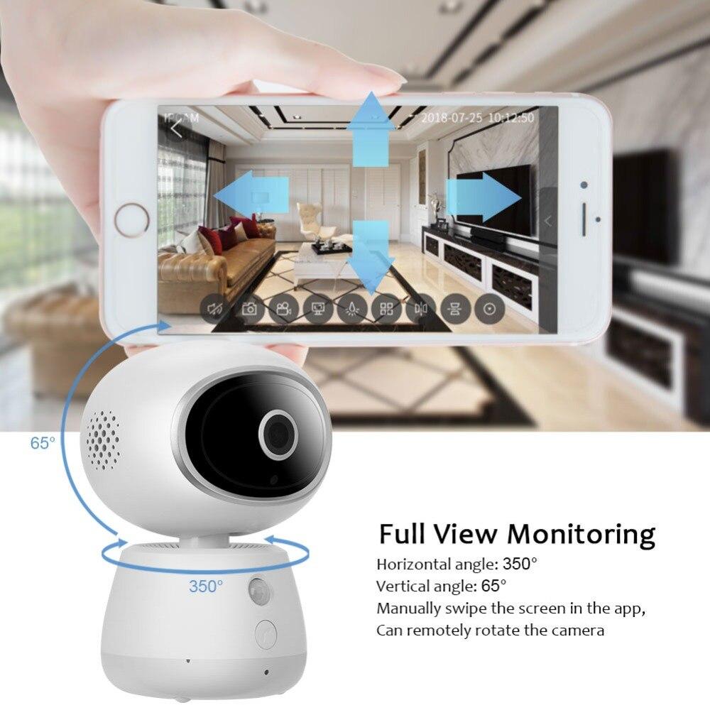 Mini moniteur vidéo sans fil bébé 3MP HD Vision nocturne Wi-Fi caméra de sécurité à domicile Surveillance de téléphone bébé caméra Wifi 2 voies Audio - 5