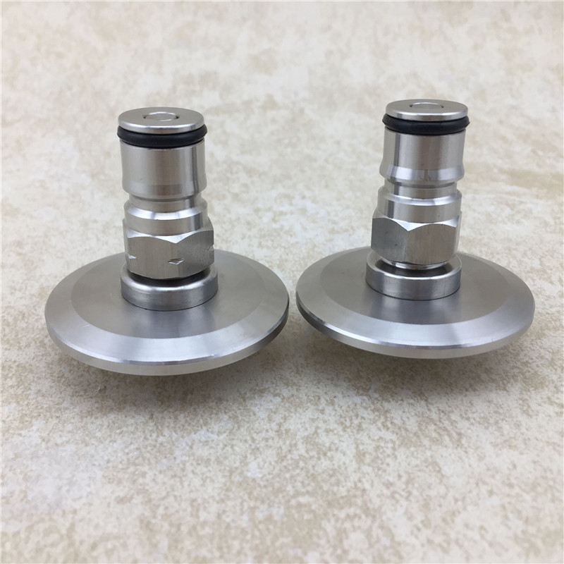 """Image 4 - 1.5""""Tri Clamp to Ball Lock Post, SS304 Sanitary Brewer Fitting, 50.5mm OD ferrule for SS conical fermenter pressure transfer-in Other Bar Accessories from Home & Garden"""