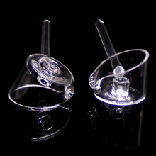 Hot Selling quartz carb cap new working for 4mm think club banger domeless Nails Nice caps