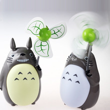 My Neighbor Totoro Night Light Table With small fan Cartoon Lamp Creative Student Bedroom Bedside children FSWB
