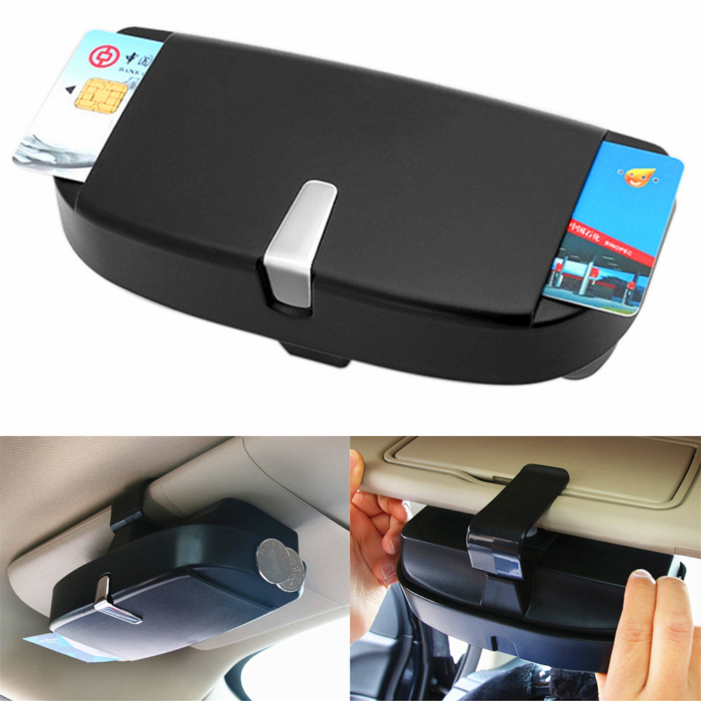 7b95c88c716 Detail Feedback Questions about Sun Visor Clip Holder Eyeglasses Glasses  Case Storage Box For Jeep Compass Audi BMW Benz VW Golf Nissan Car Styling  ...