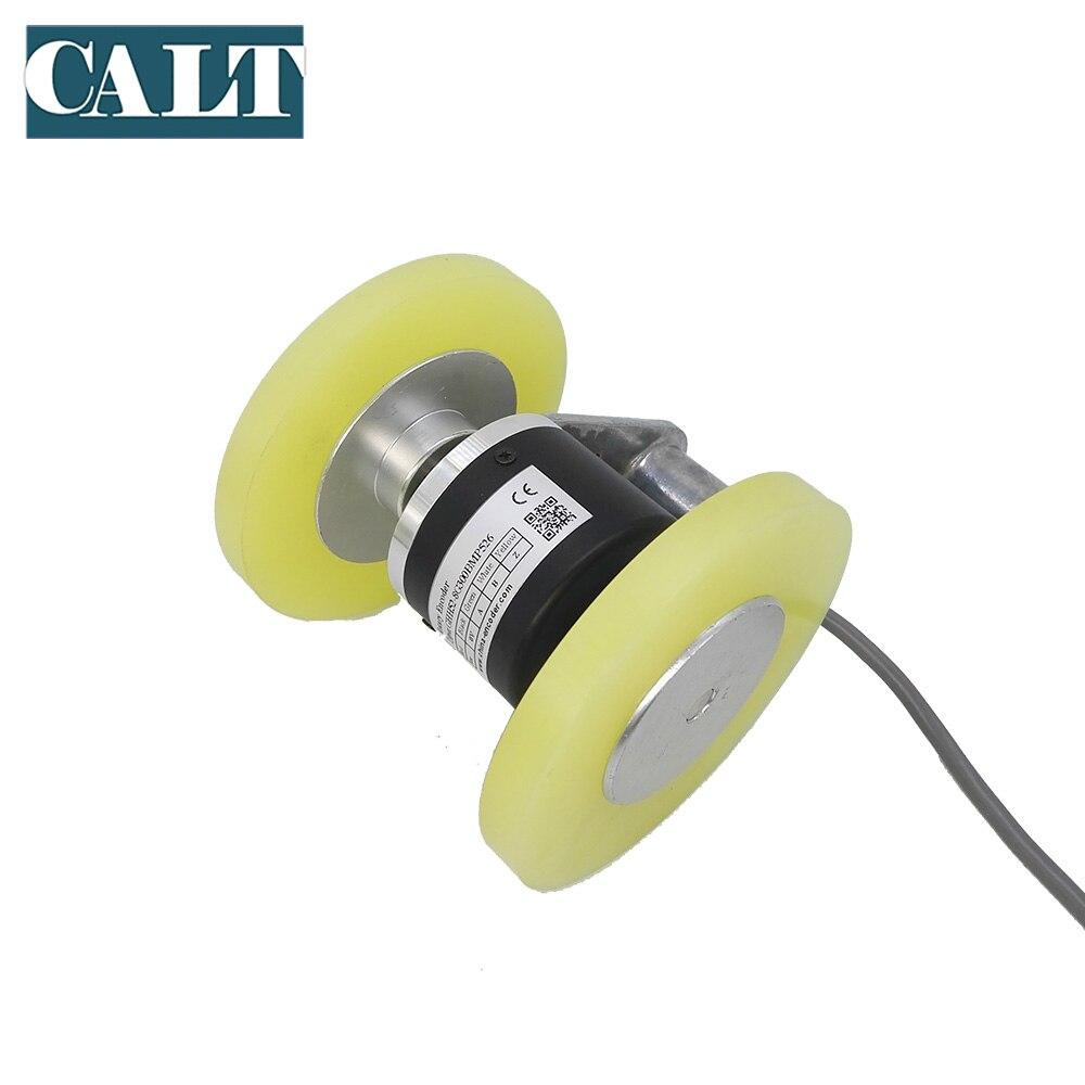 GHW52 longueur de mesure rouleau roue codeur 4096 p/r avec double 200mm circonférence roues - 4
