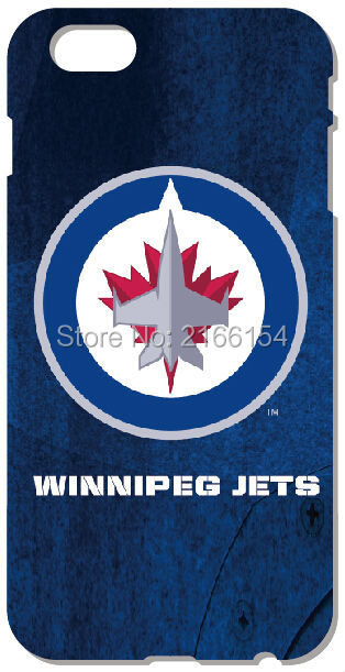 Winnipeg Jets Shell Cover For iphone 10 X 4 4S 5 5S SE 5C 6 6S 7 8 Plus For iPod Touch 5 6 Phone Case Coque Fundas Bumper Capa