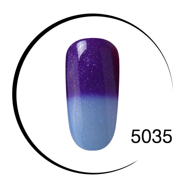 Elite99 Ändern Farbe Gel Lack 7 ml Temperatur Veränderbar Farbe Gel Nagellacke Soak Off UV LED Semi Permanent Gel lack