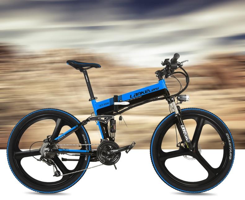 "HTB1xyLOc0qUQKJjSZFIq6AOkFXan - XT750D 27 Velocity 500W Tremendous Energy Excessive High quality 26"" Foldable Electrical Bicycle, 36V/48V Hidden Lithium Battery Mountain Bike MTB"