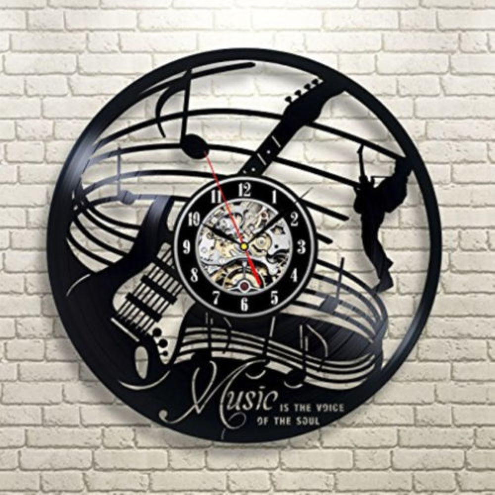 Instrument Wall Clock PromotionShop for Promotional Instrument