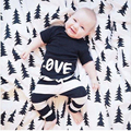 2017 Baby Boy Clothes Summer Roupas Infantis Baby Romper Fashion Baby Boy Brand Clothing Sets Short Sleeve Toddler Bebes Clothes