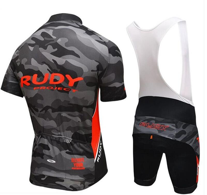 Rudy Short Sleeves Cycling Jersey Bib Set Summer Ropa Ciclismo Sport MTB  Bike Clothes Maillot Bicycle Wear Bib Shorts 9D GEL PAD-in Cycling Sets  from Sports ... c6886fd4f