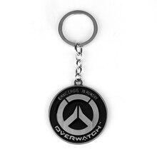 Vintage Overwatch Style Keychain