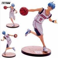Ynynoo 7 '18センチ黒子のバスケpvc黒子なしバスケットアクションフィギュア黒子哲也実行アクションフィギュアモデル玩具p305