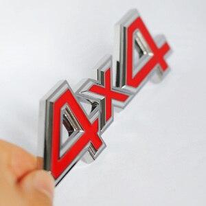 Image 5 - 1Pc Metallo 3D 4x4 Auto Car Sticker 4 Drive Emblema Distintivo per JEEP Patriot Wrangler Grand Cherokee bussola per Prado Car Styling