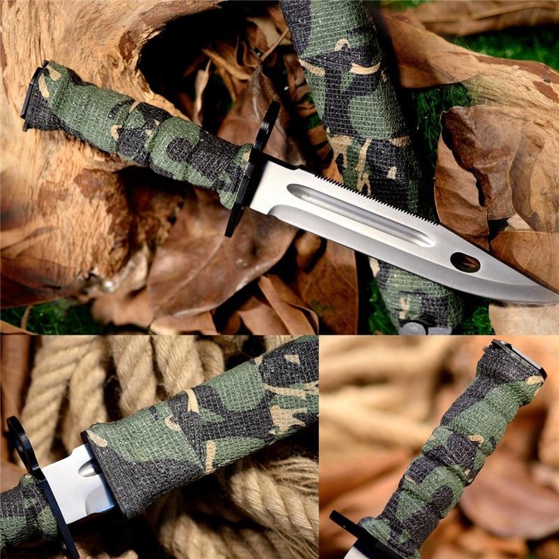 ALI shop ...  ... 32860287004 ... 2 ... Camouflage Tapes Tactical Flashlight Knife Bandage 5CM * 450CM Self-adhesive Non-woven Natural Latex Camo Stretch Bandage ...