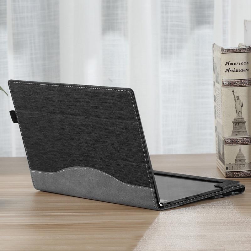 For Lenovo Yoga Book 10.1 Inch Protective Case Flip Leather For Lenovo Yoga Laptop Case Sleeve Ultra Slim Business Laptop Cover