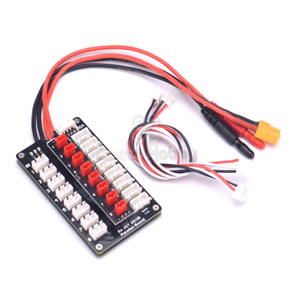 Jst Plug 2s 3s Lipo Battery Parallel Charging Board For Imax B6 Isdt Wiring Batteries In Q6 D2 Charger Rc Models Diy Accessories Parts From Toys