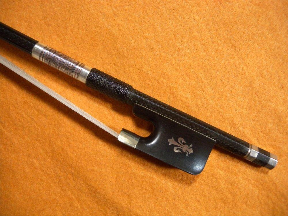 1pcs Violin Bow Pernambuco Performance Carbon Fiber 1# diamond carbon fiber viola bow melody