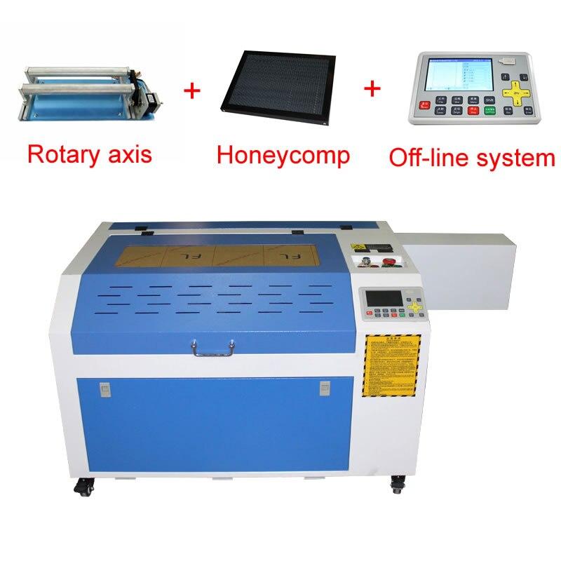 Laserowa maszyna grawerująca 80W LY laser 6040/4060 PRO CO2 z systemem off-line