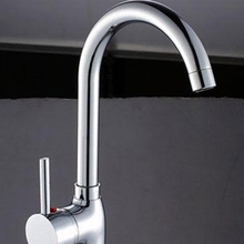 Fashion Chrome Brass Kitchen Faucet Sink Mixer Swivel Spray Spout Pull Out Basin Tap Deluxe Sprayer
