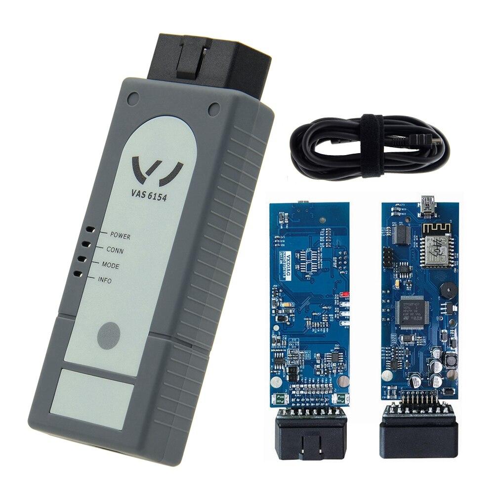 Original VAS6154 OKI Keygen VAS5054A Bluetooth AMB2300 ODIS V4.3.3 For Audi & Skod a VAS5054A Support UDS Car Reader Scanner