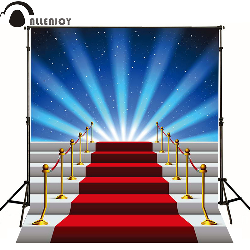 Allenjoy Photographic Background Stage Star Red Carpet