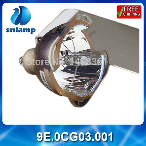 100% Original bare projector lamp 9E.0CG03.001 for SP870 100% new original bare projector bulb sp lamp 054 p vip280 0 9 e20 9 for infocus in8602 sp8602