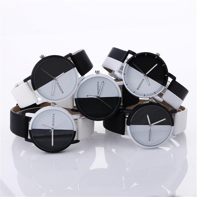 Brand Women's Watches Fashion Leather Wrist Watch Women Watches Ladies Watch Clo