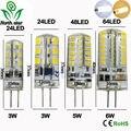 G4 led Lamp 12V AC 220V SMD3014 3W 5W 6W 220v Replace 20w 30W 40W 70W halogen lamp 360 Beam Angle LED Bulb