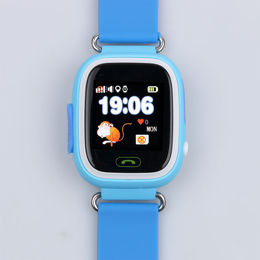 Hot Sale Colorful touch screen Q90 Smart Watch SOS Call Location Finder Device T