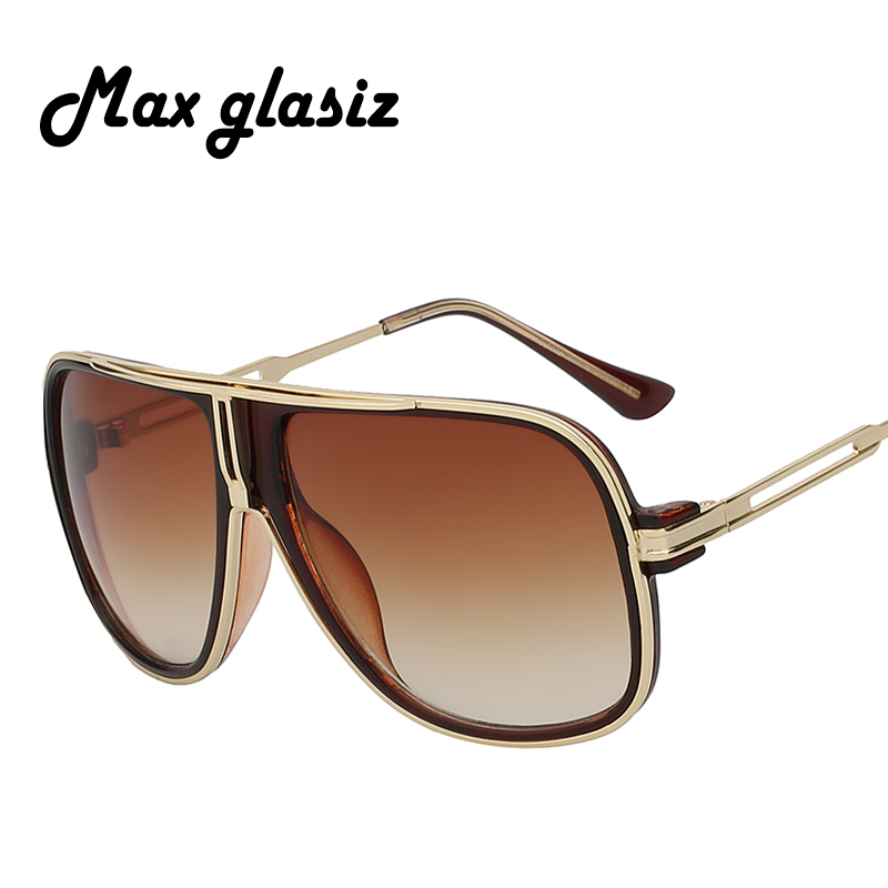 Fashion 2017 Luxury Gradient Oversized Sunglasses Women Vintage Brand Eyewear Female Men Goggles Lunette De Soleil Femme
