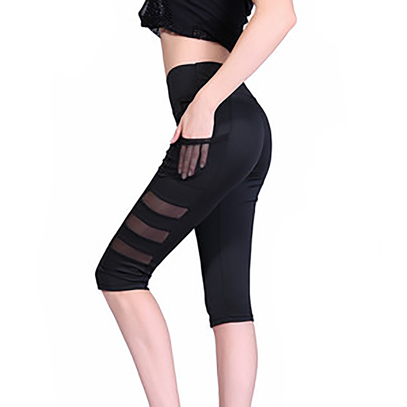 Bottoms The Best 2018 Fashion Women Lady Fitness Casual Elastic Mesh Leggings S72 Leggings