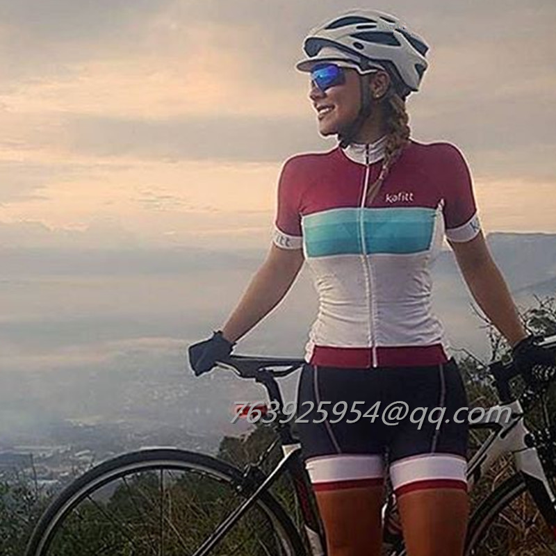 atractivo y duradero mejor online textura clara US $36.53 40% OFF|2018 Kafitt woman skinsuit custom sexy body suit team  cycling clothing Triathlon ciclismo ropa Cycling Equipment maillot  Cycling-in ...