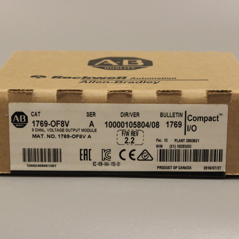 1769 OF8V 1769OF8V PLC Controller New Have in stock