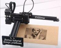 Free shipping NEJE new 3500mw 445~450nm wood metal 5W 7000mw 7W laser engraver laser cutter cutting machine DIY laser machine