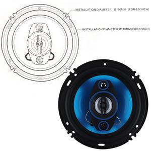 Image 5 - 2pcs 6.5Inch 180W 3 Way Auto Car Loudspeaker Coaxial Speakers Horn Audio Music Stereo Full Range Frequency Hifi Vehicle Speaker